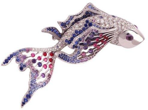 Van Clef Arpels broche poisson pingtipong.com