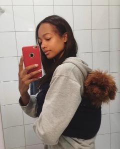 Selfie-dog-voyage-Mélie-Tiacoh